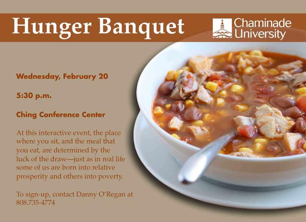 hunger-banquet