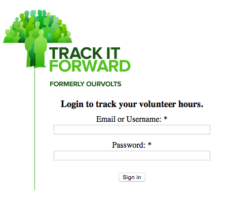 TrackItForward_Login-Screen